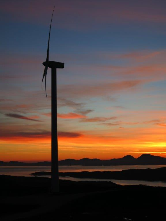 Allt Dearg Community Wind Farm takes first place in 2013
